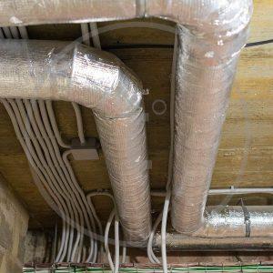 Монтаж вентиляции - электромонтажные работы