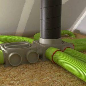 Монтаж вентиляции в доме