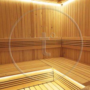 Электромонтажные работы в сауне, бане